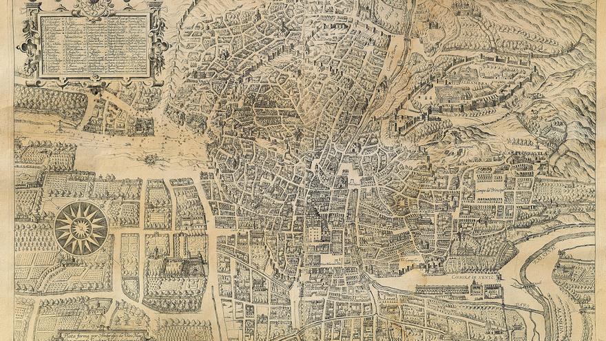 Plataforma de Ambrosio de Vico Siglos XVI y XVII