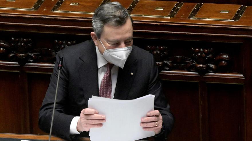 """Draghi presenta su plan de recuperación y pide evitar intereses y """"estupidez"""""""