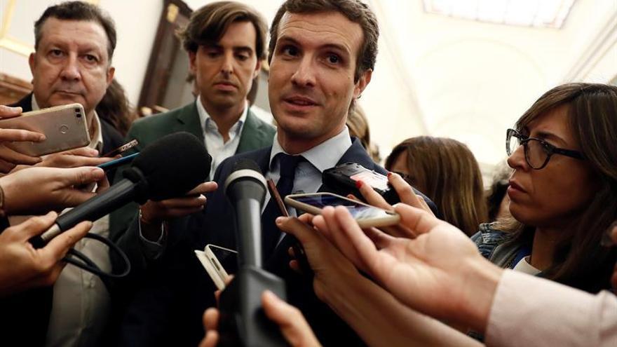 Casado, decepcionado con Borrell, avisa que no es tiempo de apaciguamientos