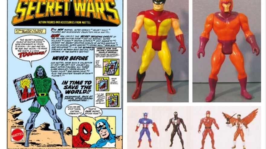 Las Secret Wars originales surgieron para vender muñecos de Mattel (Panini Cómics/Marvel)