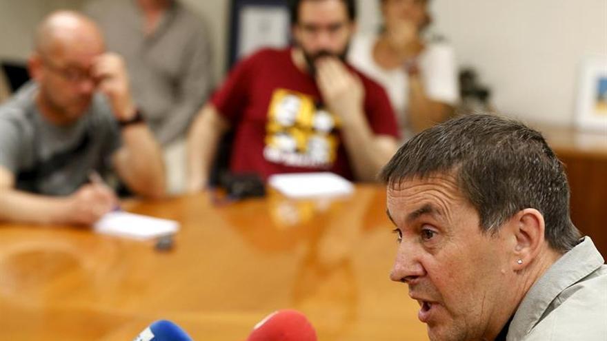 Sortu: Otegi será candidato a lehendakari se ponga como se ponga el Estado