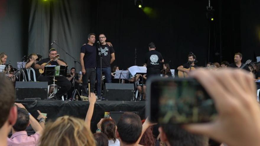 Feliu Ventura y Xavi Sarrià en el Feslloch
