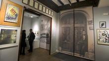 La casa de Joan Fuster, en Sueca, convertida en museo.