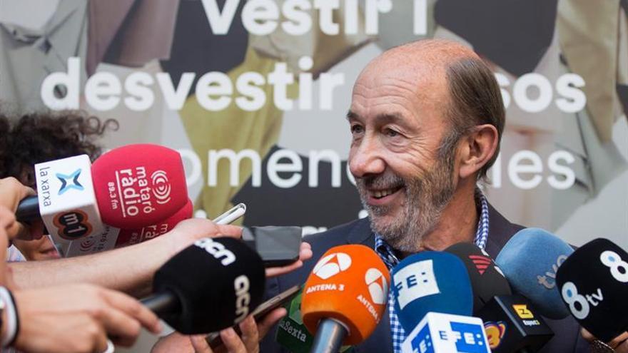 Rubalcaba hubiera optado por la abstención al día siguiente de las elecciones