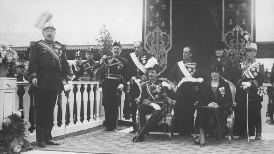 Miguel Primo de Rivera y Alfonso XIII.