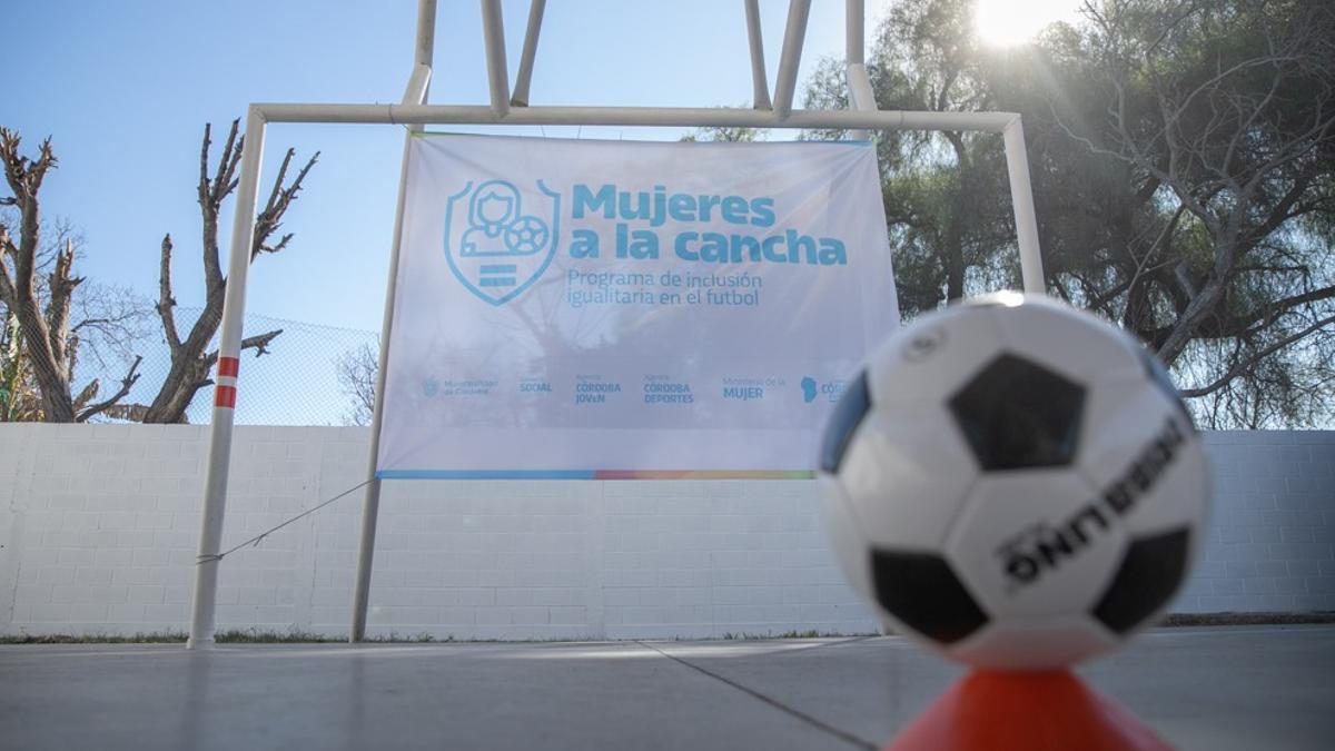 """El programa """"Mujeres a la cancha"""" ya fue publicado en el Boletín Oficial de la provincia de Córdoba."""