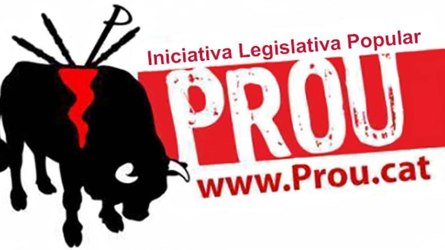 Cartel de la Plataforma Prou, promotora de la abolición de las corridas de toros en Catalunya