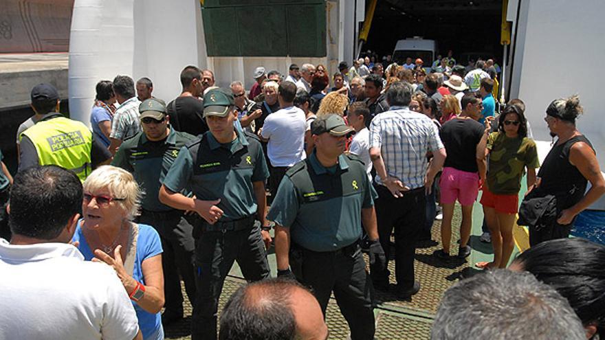 De las protestas en El Hierro #5