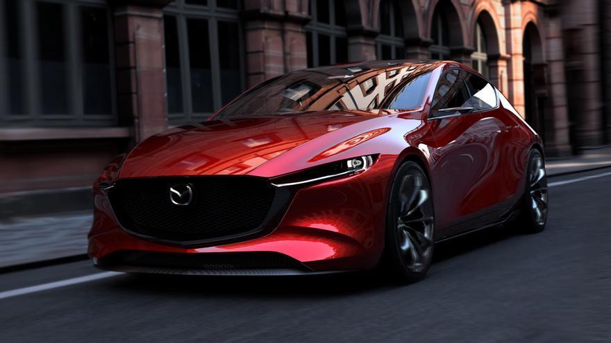 El Mazda KAI CONCEPT, el prototipo que la firma japonesa ha usado para presentar el Skyactiv-X.