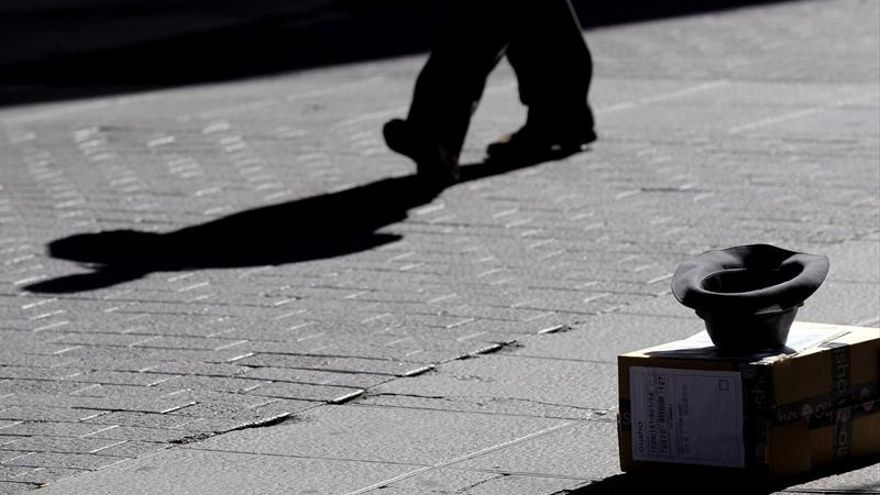 Uno de cada cinco españoles vive en riesgo de pobreza con 8.500 euros al año
