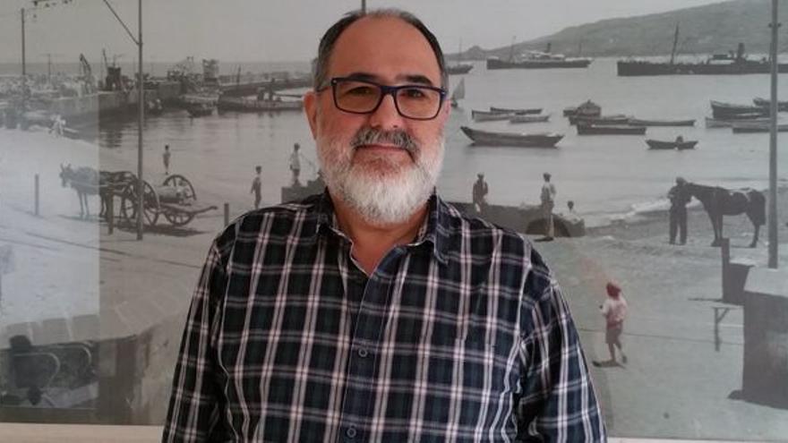 Antonio Érmetes Brito, concejal del grupo de los no adscritos del Ayuntamiento de Santa Cruz de La Palma.