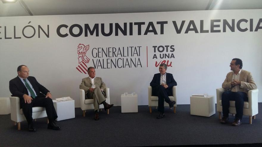 El conseller Climent ha realizado el anuncio en el pavellón de la Generalitat en la Volvo Ocean Race