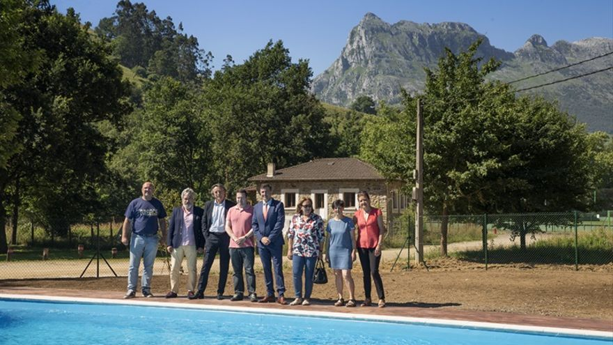 El Gobierno invierte 130.000 euros en la nueva piscina pública que abrirá en la primera quincena de julio