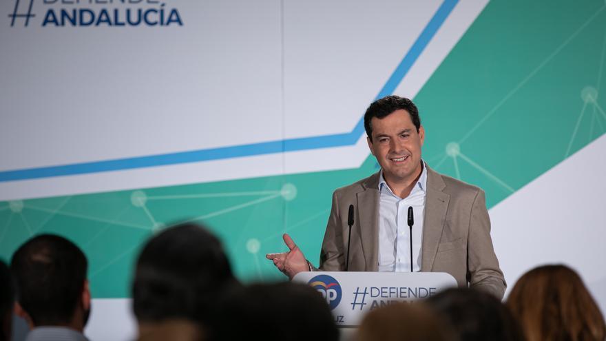 """Moreno apela al """"modelo andaluz"""" para que en España haya cambio """"tranquilo y sereno"""" con Casado como presidente"""