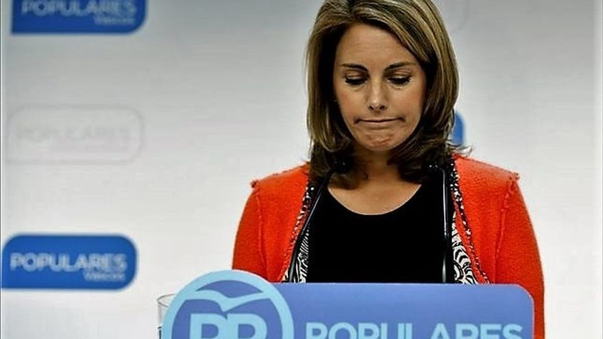 Arantza Quiroga, expresidenta de los populares vascos.
