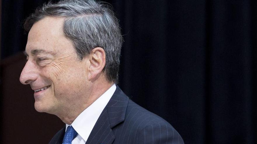 El presidente del BCE, Mario Draghi. EFE
