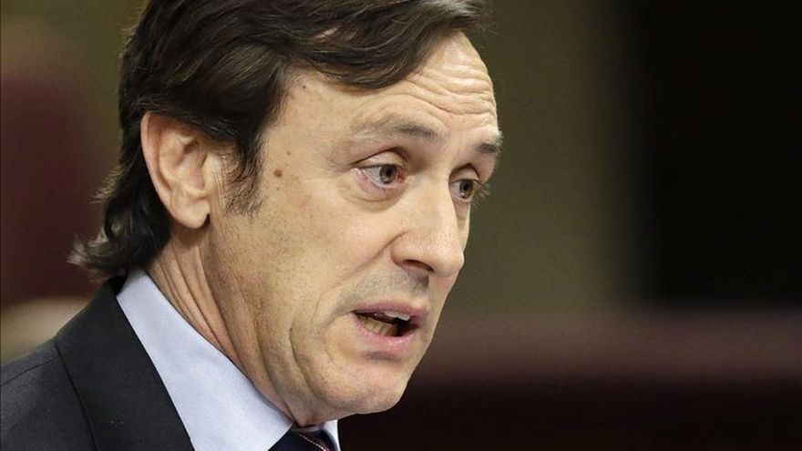 """Hernando critica la """"corrupción"""" institucionalizada, que llena de vergüenza"""