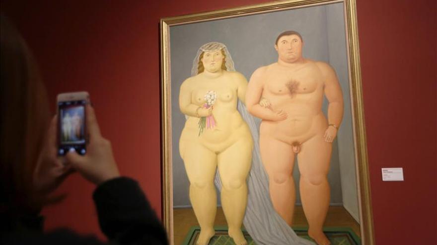 """Botero busca """"emocionar"""" al público chino con su particular universo visual"""