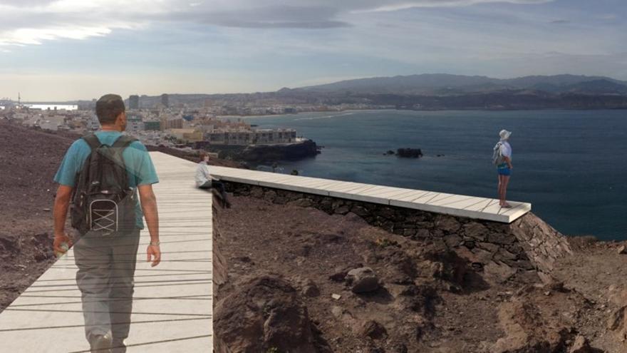 Mirador de La Isleta.