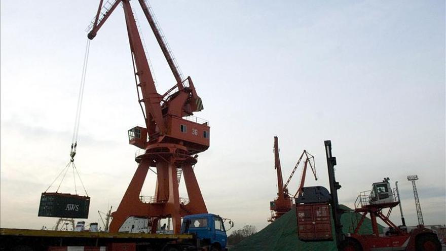 Las exportaciones chinas crecieron el 7,9 por ciento en 2013