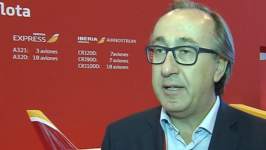 Fernando Candea, consejero delegado de la compañía Iberia Express.