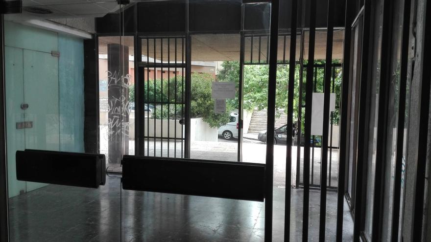 Acceso principal al Centro Cívico Municipal. Foto Ahora Guadalajara
