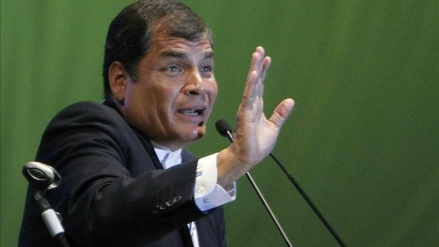 """El Presidente de Ecuador dice que la ley de desahucios en España es """"criminal"""" e """"inmoral"""""""