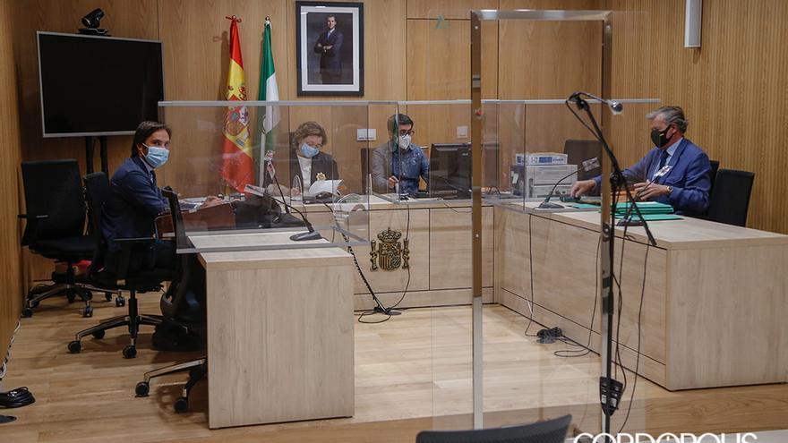 Celebración de juicios por la tarde en el Juzgado de lo Social número 4 de Córdoba | ÁLEX GALLEGOS