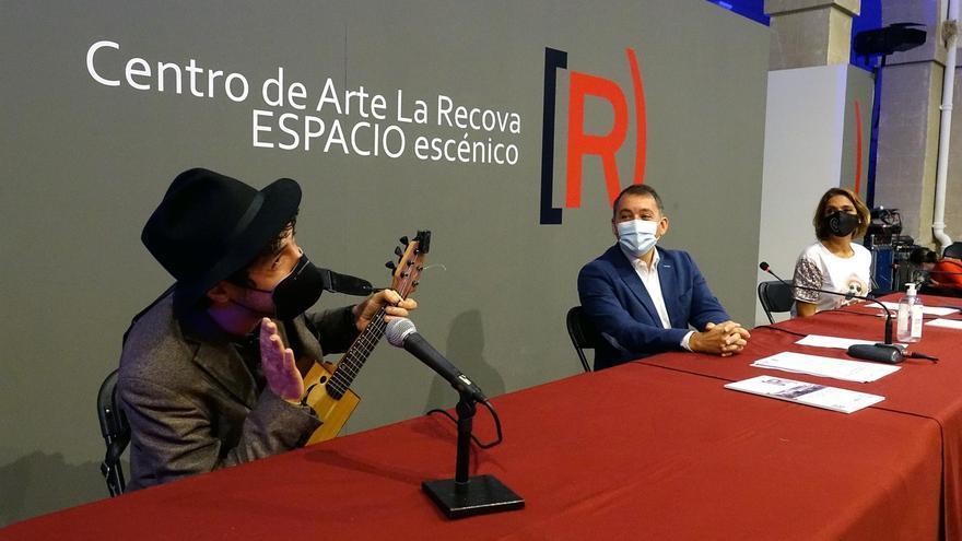 El Centro de Arte La Recova se transforma para acoger espectáculos de artes escénicas y música en pequeño formato