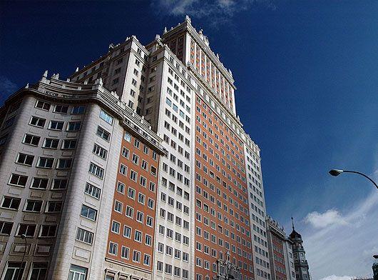 Edificio España, situado en plaza de España | Imagen: www.fotosdemadrid.es