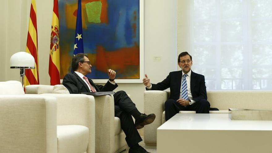 Rajoy y Mas se verán este viernes en Gerona, su primer encuentro desde el 30 de julio
