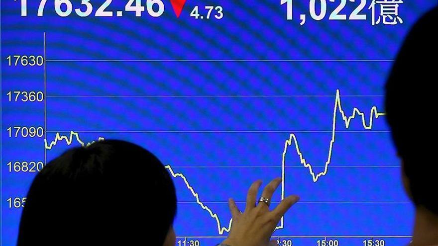 El índice Hang Seng sube un 0,08 por ciento a media sesión