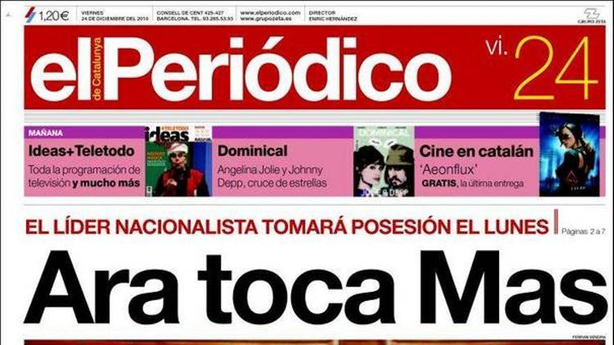 De las portadas del día (24/12/2010) #8