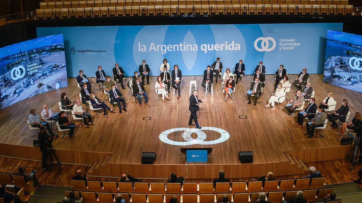 Alberto Fernández anuncia el lanzamiento del Consejo Económico y Social