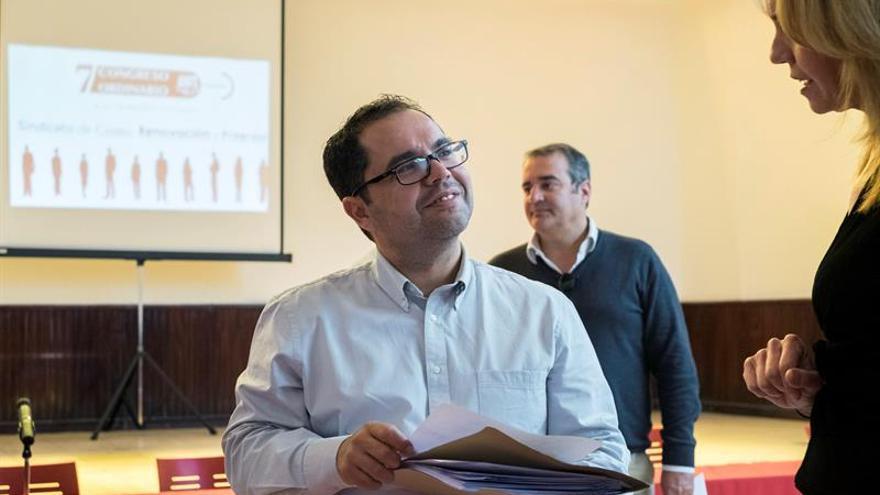 El secretario general de UGT en Canarias, Gustavo Santana. EFE/Ángel Medina G.