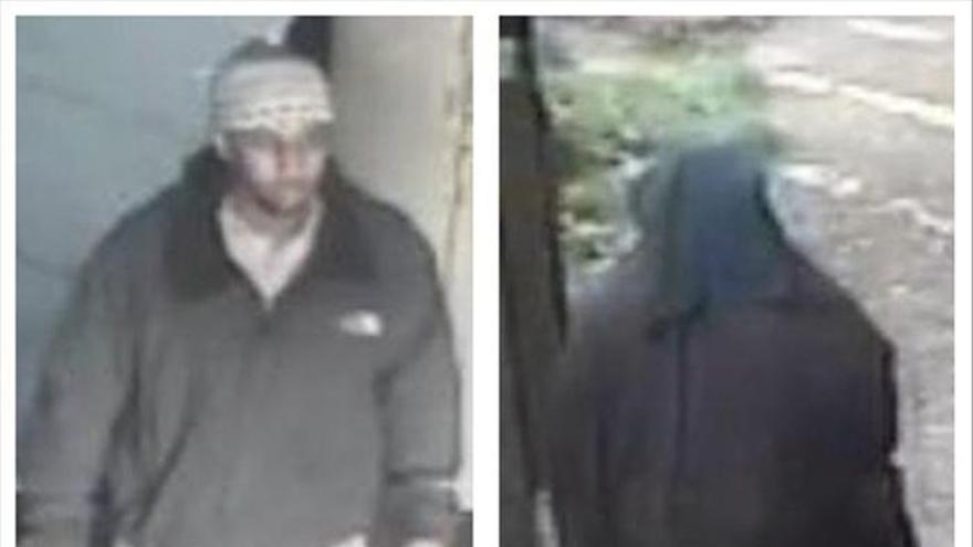 Un sospechoso de terrorismo se fuga tras salir de una mezquita con un burka