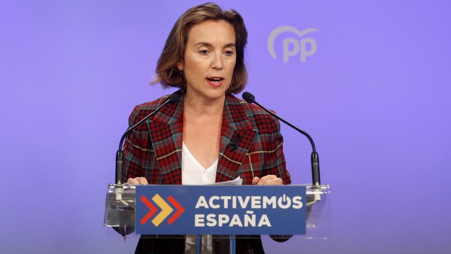 Gamarra: daré lo mejor de mi como portavoz del PP en el Congreso