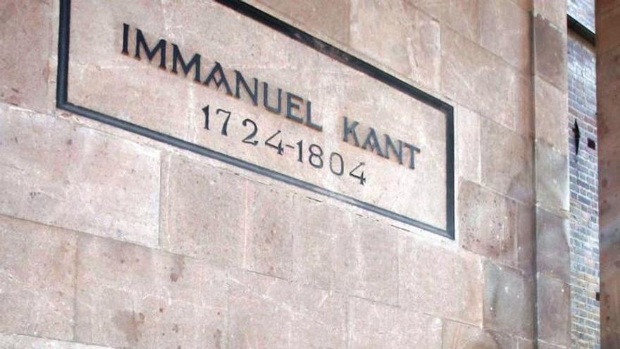 Los rusos reniegan de Kant, el hijo más célebre de Kaliningrado