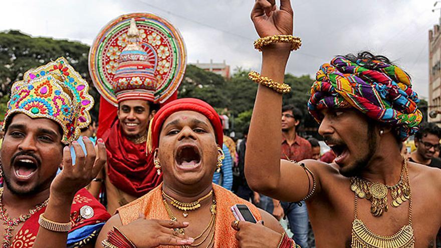 El Día del Orgullo en India