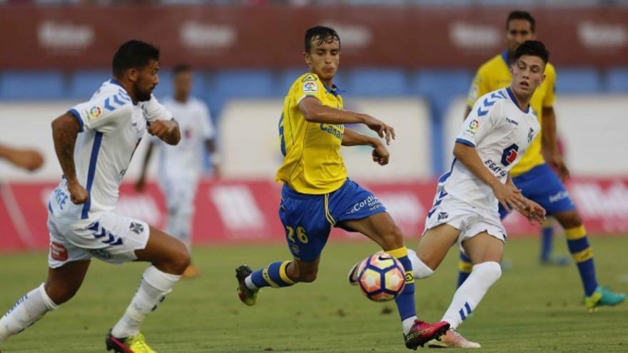 Ida de la Copa Mahou entre Las Palmas y el Tenerife