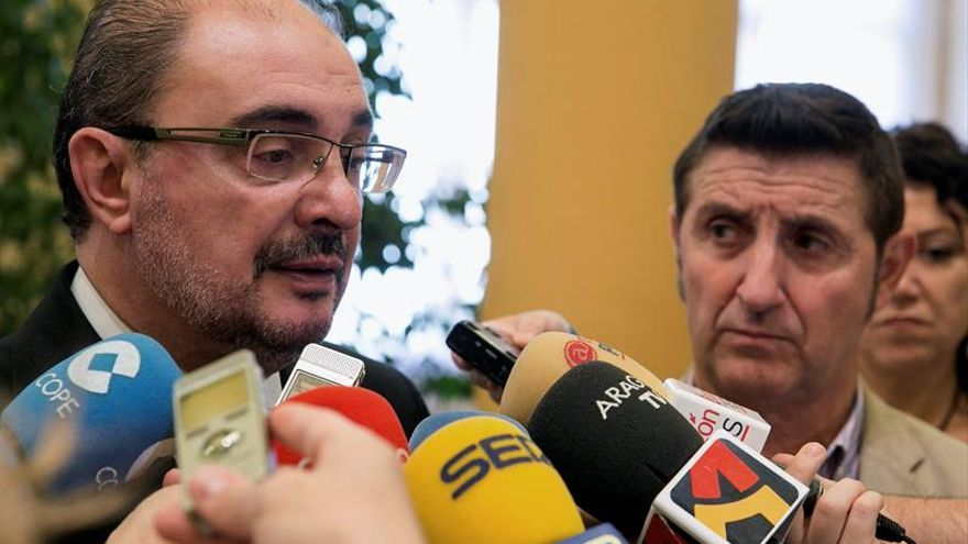 """Lambán secunda el llamamiento de Rubalcaba para que el PSOE """"se oxigene"""""""