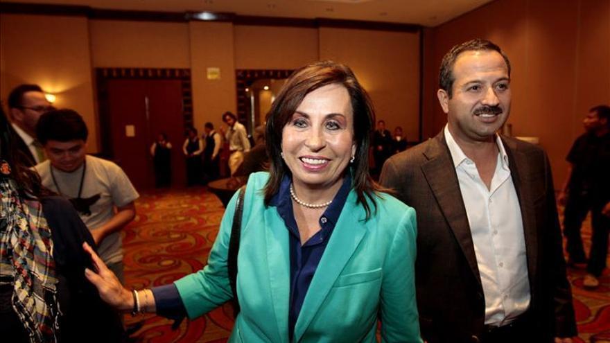 Sandra Torres aumenta su ventaja sobre Baldizón en elecciones de Guatemala