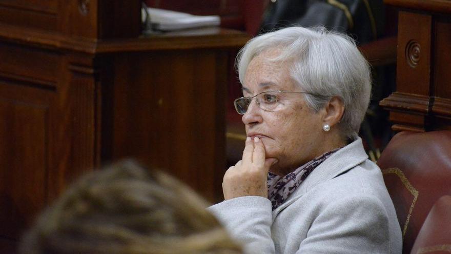 María Victoria Hernández, diputada por La Palma del PSOE en el Parlamento de Canarias.