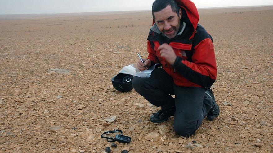 """Experto dice que """"en Cantabria caen los mismos meteoritos que en el desierto de Atacama"""""""