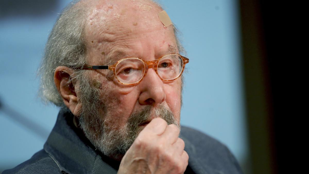 El escritor José Manuel Caballero Bonald. EFE/JuanJo Martín/Archivo