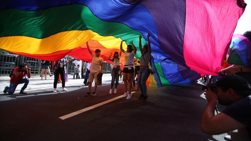 Manifestación LGTB. EFE/Miguel Lemus/Archivo