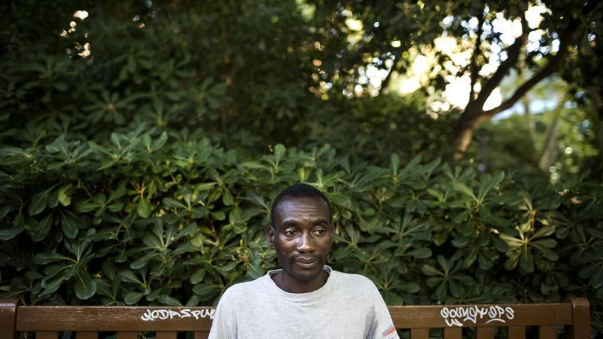 Mamadou Balde/ Fotografía: Pau Coll / RUIDO Photo