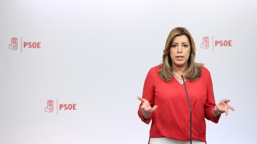 Susana Díaz presenta este miércoles sus propuestas para el PSOE, donde incluye mayor participación de militancia