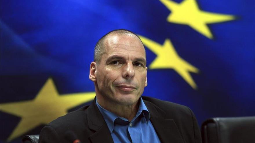 El ministro de Finanzas griego, Yanis Varufakis. / Efe