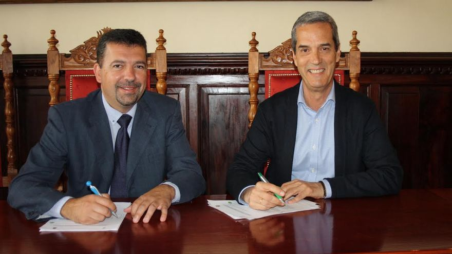 Juan José Cabrera Guelmes y Alfonso Henríquez.